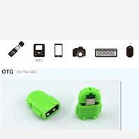 Адаптер OTG USB- micro USB в виде Андроида. 904765