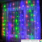 Гирлянда-штора LED цвет разноцветный  арт. 948307