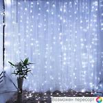 Гирлянда-штора LED цвет белый арт. 948277
