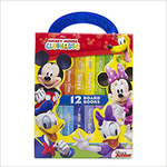 Disney Junior Mickey Mouse Clubhouse - My First Library Board Book Block 12-Book Set - PI Kids Board book – Picture Book, June 22, 2018