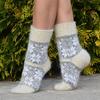 Женские пуховые носки (со швом) (размер 40-41) Артикул: 36