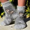 Детские Пуховые носки ( размер 31-33) от 7 до 9 лет Артикул: 320