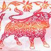 Полотенце махровое Красный бык