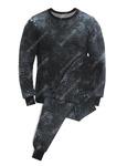 Белье нательное тк.Футер с начёсом цв.Питон чёрный Артикул: 601307
