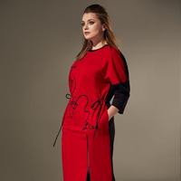 Платье Andrea Style Артикул: 00309 красный