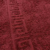 Полотенца махровые - Бордовый
