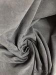 Портьерная ткань КАНВАС Super Soft серый № 340 Турция