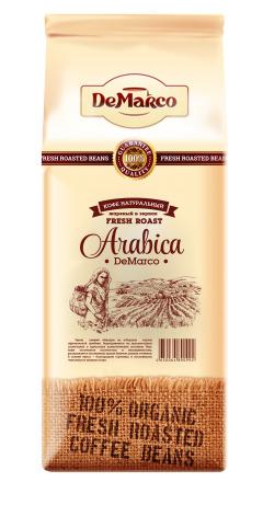 """Кофе в зернах Fresh Roast """"ARABICA"""" DeMarco"""