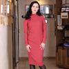 Платье 58803 коралл