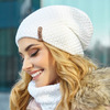 Комплект «Осирия» (шапка-колпак и шарф-хомут)