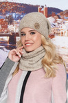 Комплект «Авалайн» (шапка и шарф-хомут)