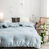 Одеяло Mency средней плотности (Серо-голубой)