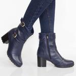 Женские кожаные ботинки (байка/экомех/цигейка - на выбор)