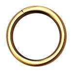 Кольцо литое 25 мм. (золото)
