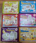 Набор деревянной мебели для кукол Polly (зал, детская, кухня, ванная, Прихожая, Спальня)