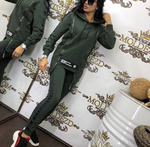 Костюм женский в спортивном стиле: кофта и штаны арт. 933873