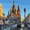 GX21214 Санкт-Петербург картина по номерам 40х50