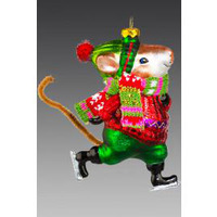 Мышь-фигурист 93967