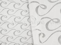 Органза выработка Мэнди Артикул: 93/1631-3 белый Состав ткани: 100% полиэстер Ширина рулона: 280