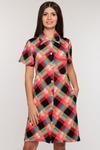 Платье-рубашка жен.арт.920-2,мульти