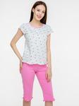 Пижама жен.814/1-1,мятно-розовая