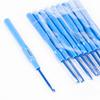 Крючок с пластиковой ручкой