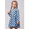 Платье футер 0376300102 для девочки