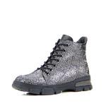 Ботинки женские кожаные ED'ART 227.astra15'bl.black.mamba