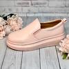 Туфли женские 1-1563 нежно-розовые сливки
