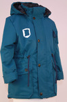 Куртка Еврозима подростковая модель Милитари Мембрана