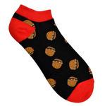 """Короткие носки """"Бургер"""""""