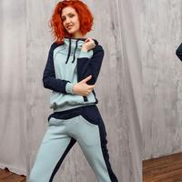4051 Спортивный костюм Мятный