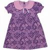 Платье кулирка 0296100101 для девочки