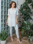 Рубашка-туника (хлопок) вышивка №21-341-4