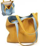 A-ES-1397 Модель 2020  Двухсторонняя сумка - вы можете ее вывернуть и получите сумку другого цвета.