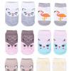 Носки для новорожденной девочки, размеры от 0-9 месяцев , 6 пар в упаковке