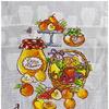 Полотенце вафельное ДЖЕМ АРТ - долгое хранение р-р 50х60