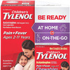 Children's Tylenol Liquid (4 fl. oz) & Chewable (24 ct), Pain Relief, Grape, 2 pc bundle, 1 Count