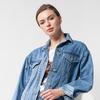 Куртка из денима  Цвет: синий    Артикул: D51.018