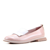 Лоферы женские кожаные ED'ART 118.Viсtoria'be. pink perla
