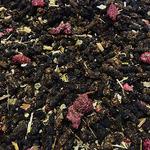 Иван-чай с ягодами и листом малины