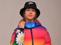 Демисезонная куртка для девочки «Радуга»