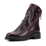 Ботинки женские кожаные ED'ART 233.samina2'bl.bordo