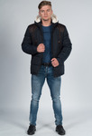 Куртка-пуховик зимняя средней длины