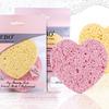 Zebo Professional Спонж для умывания пористый форме Сердца 1 упаковка