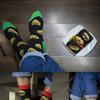 Детские носки высокие Фастфуд