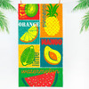 Полотенце пляжное вафельное 150*60 (МУЛЬТИФРУКТ)