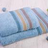 Ренессанс набор полотенец махровых (Турция) голубой