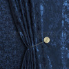 Портьера жаккард Джисея Артикул: 30/6412-24 синий  Ширина рулона: 280