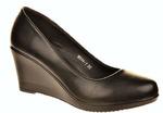 РАСПРОДАЖА Море W544-1 Туфли женские чер иск кожа